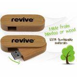 Azionamento dell'istantaneo del USB/commercio all'ingrosso giranti di bambù di legno azionamento della penna con il prezzo di fabbrica superiore