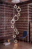 Lâmpadas de madeira de suspensão novas do pendente do diodo emissor de luz (KA-AYH01)