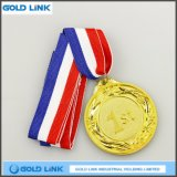Medaglie su ordinazione del disco metallico da conio delle medaglie di oro della medaglia del premio di sport
