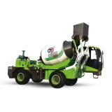 Qualidade superior 2.6 Cbm máquina de mistura de concreto do Motor Diesel