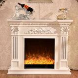 セリウムの公認のホーム家具の木製のヨーロッパ式の電気暖炉(328)