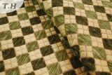 Tessuto verde della mobilia del Chenille di Gemotric (FTH31151)