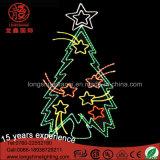 Свет мотива рождественской елки поставщика СИД 2D праздника светлый для крытого и напольного украшения