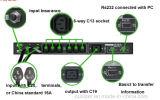 Commutateur automatique de transfert monophasé Msts-110VAC 16AMP 1.76kw 2 Pôle d'Ouxiper