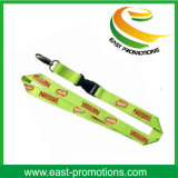 Itens promocionais de moda Custom Custom Polyester Eco-Friendly Lanyard