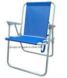 De metal silla de camping al aire libre plegable