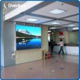 Pared video grande a todo color de interior del LED para hacer publicidad, teatro