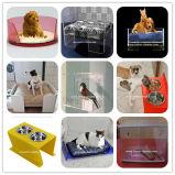 Bacia plástica Btr-S1026 do animal de estimação do alimentador do animal de estimação