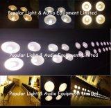 4PCS * 100W wärmen Weiß + kaltes Weiß 2in1 PFEILER LED Publikums-Blinder-Licht