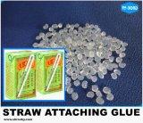 Schneller trockener transparenter heißer Schmelzkleber für Stroh-Zubehör