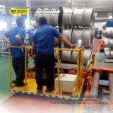 Fábrica de aluminio mediante la transferencia de la solución de transferencia de Motorizada de mesa