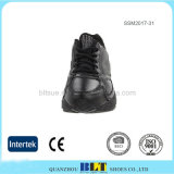 高品質の完全穀物の革人の安全靴