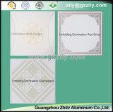 Rollen-Beschichtung-Drucken-Decke des Aluminiumbaumaterials - Gold achteckig