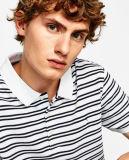 Chemise de polo des pistes des hommes avec la chemise courte