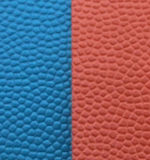 PVC総合的なバスケットボールのフットボールおよびバレーボール材料の革