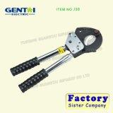 Cortador hidráulico J40 do cabo do cortador hidráulico do cabo da catraca