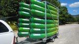 Plástico moldeado rotatorio de Europa Touring Triple Kayak