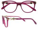 Geen Optisch Frame van de Glazen van het Oogglas van Eyewear van de Acetaat van de Manier MOQ
