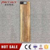 Tuile bon marché glacée en bois des prix de tuile de carreau de céramique de la couleur 600X150mm de Brown