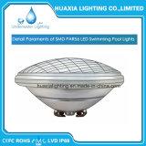 12V IP68 18W LED PAR56 de la luz de la piscina, bajo el agua luz