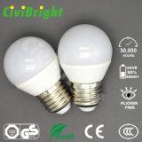 G45 E27 5W СИД освещает шарик SMD 2835 гловальный