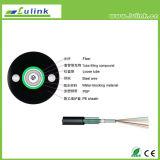 2 / 4 / 6 / 8 / 12 / 16 / 24 Core GYXTW blindados exterior de modo único cabo de fibra óptica de preço de 1 km