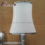 Indicatore luminoso di ceramica della parete dell'ananas della tonalità di vetro europea per la camera da letto