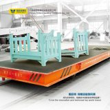 Fabrication de papier Câble de bobine Powered Rail Electric Flat Car