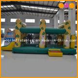 Tiger Moonwalk inflables inflables con piscina de bolas (AQ401)