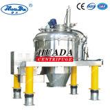 PLD cristalizó la máquina centrífuga de la descarga de la parte inferior del raspador de la separación de materiales