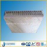 Панель сота Veneer каменная мраморный алюминиевая для плакирования стены