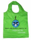Sac pliable de client, type de moustache, réutilisable, promotion, poids léger, sac d'emballage, sacs d'épicerie et maniable, cadeaux, décoration et accessoires