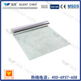 3mm 100% Acoustic Natural Rubber Underlay with Aluminium Foil