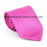 Soie tissée classique en jacquard, cravate en polyester Cravate pour hommes