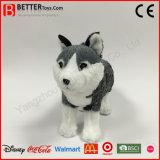 Lebensechter Plüsch-Spielzeug-angefülltes Tier-weicher Spielzeug-Wolf