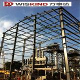 Entrepôt de structure en acier ondulé imperméable et éolien