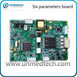 Six dans un panneau de paramètre pour le moniteur patient (Un806)