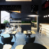 (sp-CS350) Muebles modernos de madera australianos del café del restaurante del nuevo diseño