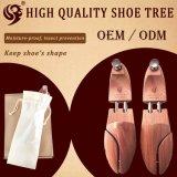 Bois fait sur commande d'arbre de chaussure de civière réglable de chaussure de ménage