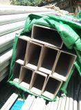 Tubulação de aço inoxidável sem emenda retangular de TP304/321/316L