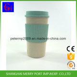 cuvette de café réutilisable respectueuse de l'environnement de fibre de blé de 500ml 18oz, cuvettes de thé, tasses de café