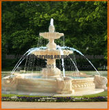 La fontana esterna di qualità della pietra dell'acqua commerciale poco costosa della fontana per il giardino caratterizza Mf1703