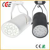 Vía LED LED luces LED de iluminación de pista pista de la luz de la vía de la luz Spot lámparas PAR28/PAR30 AC110V/220V de las luces de pista LED