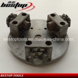 125mmの3つの合金の粉砕ローラーが付いている具体的な粉砕車輪