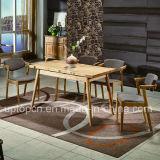 A mobília de madeira de alta qualidade do restaurante ajustou-se com poltrona da tela (SP-CT781)