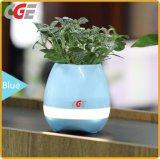 Flowerpot sec de jeu léger de musique de couleur multi de haut-parleur de Bluetooth d'interaction de centrale