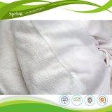 基本的な綿のテリーの防水マットレスのカバー