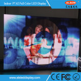 P7.62 HD LED a todo color de interior de la pantalla de visualización de publicidad