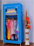 Gabinete limpo fácil barato que dobra o Wardrobe simples do quarto