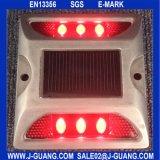 Рефлектор дороги безопасности двойной отражательный светлый круглый пластичный (JG-R-16)